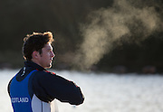 Caversham, Reading, Great Britain,     Steam Rising, Sam SCRIMGEOUR, GBRowing Training Session, at the National Training Base, Berkshire, England.<br /> <br /> Wednesday  09/12/2015<br /> <br /> [Mandatory Credit; Peter Spurrier/Intersport-images]