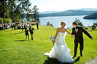 Chris & Kelli Lakey's wedding held at Elk Point on Saturday, July 2, 2011 in Coeur d'Alene, Idaho.