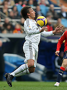 Real Madrid's Gabrieol Heinze during La Liga match.January 18 2009.