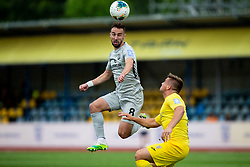 Endri Cekici of Olimpija during football match between NK Domzale and NK Olimpija in 29th Round of Prva liga Telekom Slovenije 2019/20, on June 21, 2020 in Sports park, Domzale, Slovenia. Photo by Vid Ponikvar / Sportida
