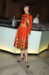 Model ERIN O'CONNOR at the 2005 British Fashion Awards held at The V&A museum, London on 10th November 2005.<br />