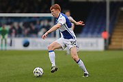 Bristol Rovers Rory Gaffney (30) man of the match on the ball  second half during the EFL Sky Bet League 1 match between Bristol Rovers and Southend United at the Memorial Stadium, Bristol, England on 11 March 2017. Photo by Gary Learmonth.