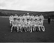 22/02/1970<br /> 02/22/1970<br /> 22 February 1970<br /> Railway Cup Hurling Final: Ulster v Munster at Croke Park, Dublin. <br /> The Ulster team.