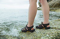 Female legs and feet at Gulf of Thailand&#xA;<br />