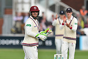 Steve Davies of Somerset during the Specsavers County Champ Div 1 match between Somerset County Cricket Club and Middlesex County Cricket Club at the Cooper Associates County Ground, Taunton, United Kingdom on 26 September 2017. Photo by Graham Hunt.