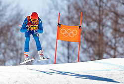 13.02.2018, Jeongseon Alpine Centre, Pyeongchang, KOR, PyeongChang 2018, Ski Alpin, Herren, Kombination, im Bild Christof Innerhofer (ITA) // Christof Innerhofer of Italy during the Mens Ski Men's Alpine Combined of the Pyeongchang 2018 Winter Olympic Games at the Jeongseon Alpine Centre in Pyeongchang, South Korea on 2018/02/13. EXPA Pictures © 2018, PhotoCredit: EXPA/ Johann Groder