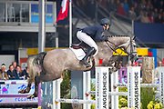 Michel Priemis - Hamanta B<br /> FEI WBFSH World Breeding Jumping Championships for Young Horses 2017<br /> © DigiShots