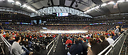 The RIT Men's hockey team competed in the Frozen Four in Detroit, MI on April 8th, 2010.