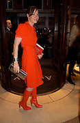Tara Palmer- Tompkinson. Book party for LAST VOYAGE OF THE VALENTINA by Santa Montefiore (Hodder & Stoughton) Asprey,  New Bond St. 12 April 2005. ONE TIME USE ONLY - DO NOT ARCHIVE  © Copyright Photograph by Dafydd Jones 66 Stockwell Park Rd. London SW9 0DA Tel 020 7733 0108 www.dafjones.com