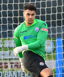 BEN HEATH GOALKEEPER  AFC RUSHDEN & DIAMONDS AFC Rushden and Diamonds v Chalfont St Peter AFC, Hayden Road Evo Stik League South East Saturday 17th February 2018