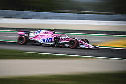 May 11, 2018 - Barcelona, Catalonia, Spain - ESTEBAN OCON (FRA) drives during the second practice session of the Spanish GP at Circuit de Catalunya in his Force India VJM11 (Credit Image: © Matthias Oesterle via ZUMA Wire)