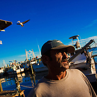 10/28/14 5:51:19 PM -- Cortez, FL, U.S.A  -- John Yates, a former commercial fisherman who was convicted under a major federal document-shredding statute for throwing undersized grouper overboard.  --    Photo by Chip J Litherland, Freelance