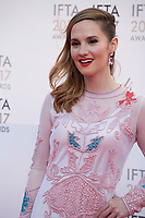 Ruth Bradley, at the 2017 IFTA Film & Drama Awards at the Round Room of the Mansion House, Dublin,  Ireland Saturday 8th April 2017.