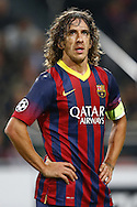Onderwerp/Subject: FC Barcelona - Champions League<br /> Reklame:  <br /> Club/Team/Country: <br /> Seizoen/Season: 2013/2014<br /> FOTO/PHOTO: PUYOL ( Carles Puyol SAFORCADA ) of FC Barcelona. (Photo by PICS UNITED)<br /> <br /> Trefwoorden/Keywords: <br /> #01 $94 &plusmn;1377840750319<br /> Photo- &amp; Copyrights &copy; PICS UNITED <br /> P.O. Box 7164 - 5605 BE  EINDHOVEN (THE NETHERLANDS) <br /> Phone +31 (0)40 296 28 00 <br /> Fax +31 (0) 40 248 47 43 <br /> http://www.pics-united.com <br /> e-mail : sales@pics-united.com (If you would like to raise any issues regarding any aspects of products / service of PICS UNITED) or <br /> e-mail : sales@pics-united.com   <br /> <br /> ATTENTIE: <br /> Publicatie ook bij aanbieding door derden is slechts toegestaan na verkregen toestemming van Pics United. <br /> VOLLEDIGE NAAMSVERMELDING IS VERPLICHT! (&copy; PICS UNITED/Naam Fotograaf, zie veld 4 van de bestandsinfo 'credits') <br /> ATTENTION:  <br /> &copy; Pics United. Reproduction/publication of this photo by any parties is only permitted after authorisation is sought and obtained from  PICS UNITED- THE NETHERLANDS