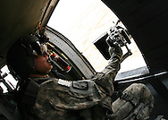 USA Door Gunner on a UH-60 over the skies of Iraq.  In Feb 2008, as an Active Duty U.S. Air Force Security Forces officer, I deployed to the Multinational Corps-Iraq (MNC-I), Camp Victory, Iraq for a period of 6 months.  These images are a collection of my friends, the job and of Iraq.  Thanks for looking