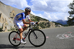 Rudy Molard (FRA) FDJ climbs through the Caisse Deserte on Col d'Izoard during Stage 18 of the 104th edition of the Tour de France 2017, running 179.5km from Briancon to the summit of Col d'Izoard, France. 20th July 2017.<br /> Picture: Eoin Clarke | Cyclefile<br /> <br /> All photos usage must carry mandatory copyright credit (© Cyclefile | Eoin Clarke)