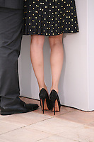 Actress Melonie Diaz's shoes at the Fruitvale Station film photocall at the Cannes Film Festival 16th May 2013