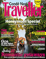 Conde Nast Traveller June 2013 Cover India