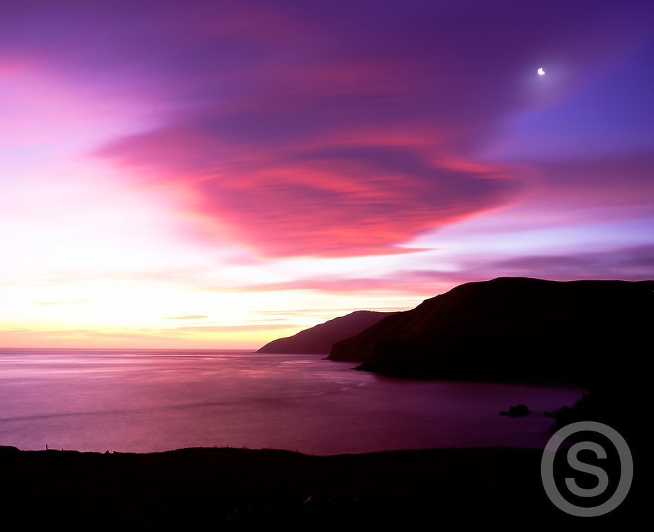 Photo: Jill Jennings, Sunrise at Torr Head, County Antrim