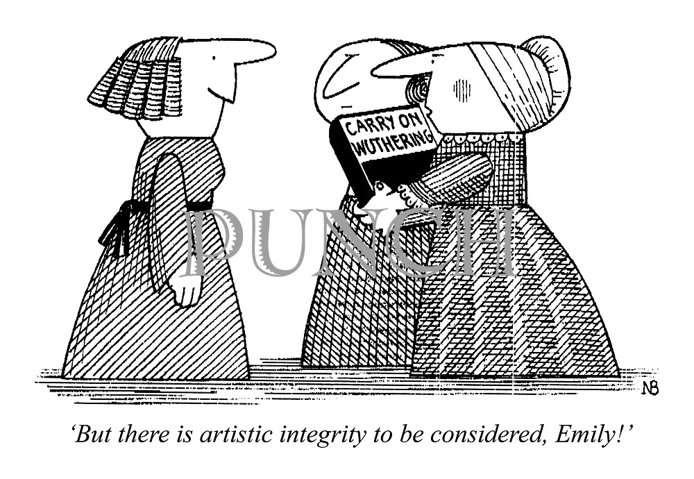 'But there is artistic integrity to be considered, Emily!'