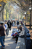 People in Central Park.
