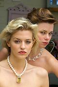 Model beauty shoot.