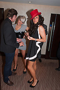 JEAN ALBERT; EVELYN TYHURST; VANESSA PERRY, London Bar & Club Awards.  Annual awards honouring the best of London nightlife, InterContinental Hotel, Park Lane, London, 12 June 2012.