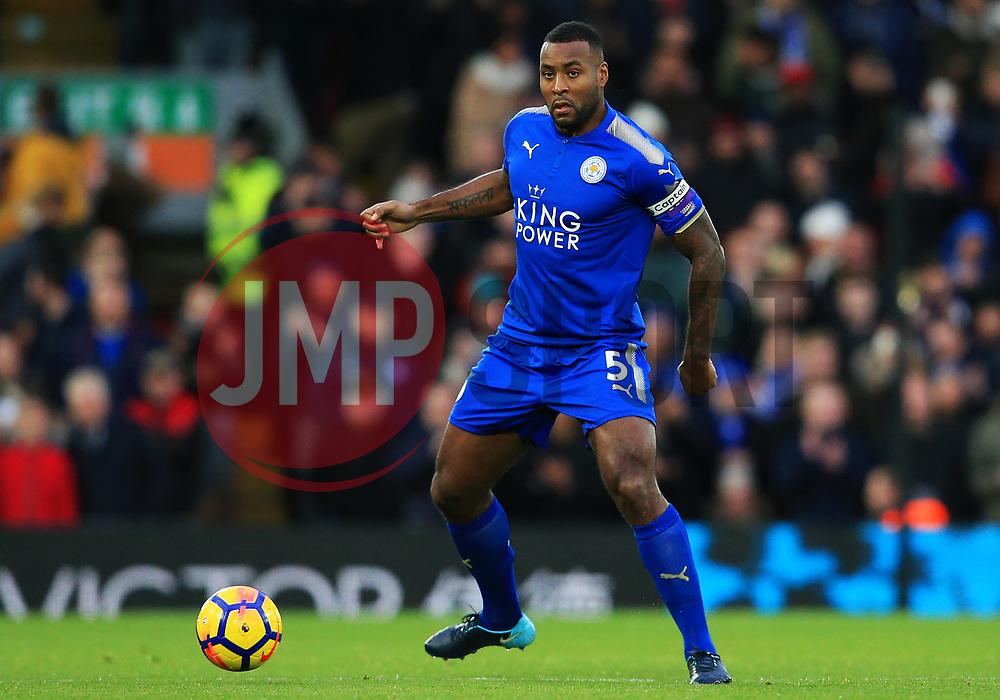 Wes Morgan of Leicester City - Mandatory by-line: Matt McNulty/JMP - 30/12/2017 - FOOTBALL - Anfield - Liverpool, England - Liverpool v Leicester City - Premier League