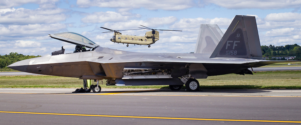 New York Air Show preparations and practice at Stewart Airport on Aug. 28, 2015. The air show takes place on Aug. 29 - 30.