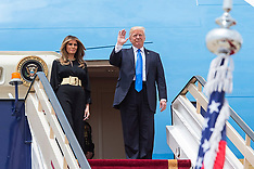 President Donald Trump's First Foreign Visit In Saudi Arabia - 20 May 2017