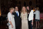 Prince Mishaal Al Saud; LAETICIA; ANDREA DIBELIUS, preview of Pinchuk Foundation's Future Generation Art Prize,     Palazzo Contarini PolignacVenice. Venice Bienalle. Thursday 30 May).