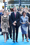 102116 Princesa de Asturias Awards 2016 - Day 2