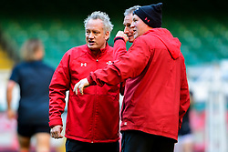 Rob Howley and Neil Jenkins takes part in the training session - Photo mandatory by-line: Ryan Hiscott/JMP - 29/10/2018 - RUGBY - Principality Stadium - Cardiff, Wales - Autumn Series - Wales Rugby Open Training Session