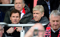 Arsenal manager Arsene Wenger takes his seat in the stand. - Mandatory by-line: Alex James/JMP - 14/01/2018 - FOOTBALL - Vitality Stadium - Bournemouth, England - Bournemouth v Arsenal - Premier League