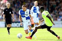 Liam Sercombe of Bristol Rovers travels with the ball - Mandatory by-line: Dougie Allward/JMP - 12/08/2017 - FOOTBALL - Memorial Stadium - Bristol, England - Bristol Rovers v Peterborough United - Sky Bet League One