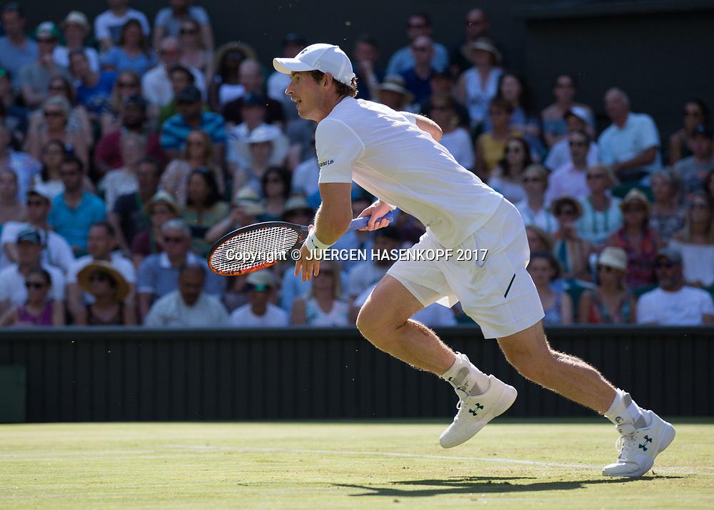 ANDY MURRAY (GBR)<br /> <br /> Tennis - Wimbledon 2016 - Grand Slam ITF / ATP / WTA -  AELTC - London -  - Great Britain  - 5 July 2017.