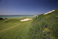 The 12th hole at the Thracian Cliffs Golf & Beach Resort, Kavarna, Bulgaria, 18th May 2013..Picture: Eoin Clarke www.golffile.ie.