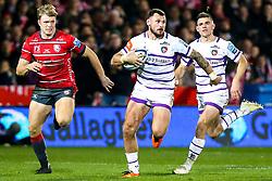 Adam Thompstone of Leicester Tigers - Mandatory by-line: Robbie Stephenson/JMP - 16/11/2018 - RUGBY - Kingsholm - Gloucester, England - Gloucester Rugby v Leicester Tigers - Gallagher Premiership Rugby