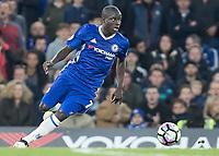 Football - 2016/2017 Premier League - Chelsea V Manchester United<br /> <br /> Ngolo Kante of Chelsea at Stamford Bridge.<br /> <br /> COLORSPORT/DANIEL BEARHAM