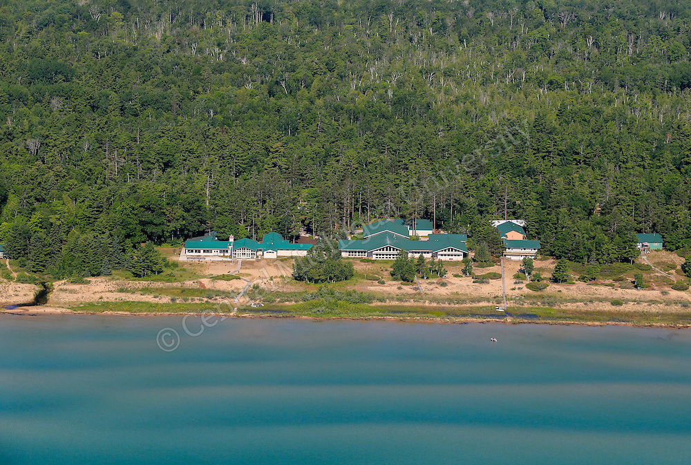 Beaver Island in Lake Michigan. Biological Research Station. Photo by Steve Jessmore/ Central Michigan University