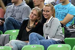 Lea Smrkolj during basketball match between KK Union Olimpija Ljubljana and Telekom Baskets Bonn (GER) in Round 3 of EuroCup 2015/16, on October 28, 2015 in Arena Stozice, Ljubljana, Slovenia. Photo by Matic Klansek Velej / Sportida.com