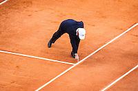 Arbitre - 15.04.2015 - Tournoi de Monte Carlo - Masters 1000<br />Photo : Serge Haouzi / Icon Sport