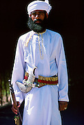 Guard, Nizwa, Oman.