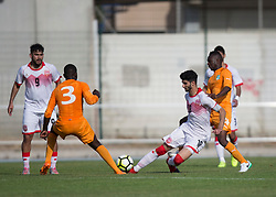 AUBAGNE, FRANCE - Tuesday, May 30, 2017: Bahrain's Ameen Shubbar Sayed Mohamed in action during the Toulon Tournament Group B match between Bahrain and Ivory Coast at the Stade de Lattre-de-Tassigny. (Pic by Laura Malkin/Propaganda)