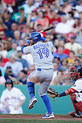 Jose Bautista of the Toronto Blue Jays (Photo by Joe Robbins)