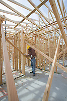 Construction worker checking framework