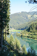 Gmund Dam and power plant Near Gerlos Pass, Zillertal, Tirol, Austria