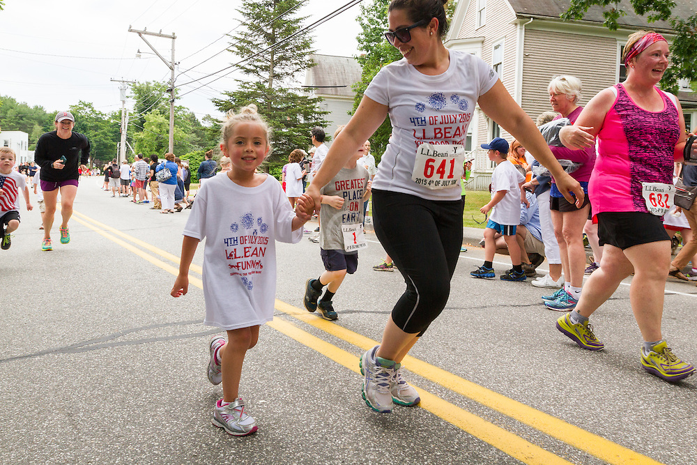 kid's one mile fun run