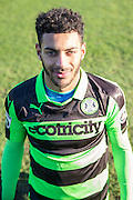 Forest Green Rovers Kaiyne Woolery(14) during the Vanarama National League match between Forest Green Rovers and Braintree Town at the New Lawn, Forest Green, United Kingdom on 21 January 2017. Photo by Shane Healey.