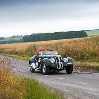 Wessel von Loringhoven and Patrick Burke in their BMW 328  Frazer Nash   on the Royal Automobile Club 1000 Mile Trial 2015